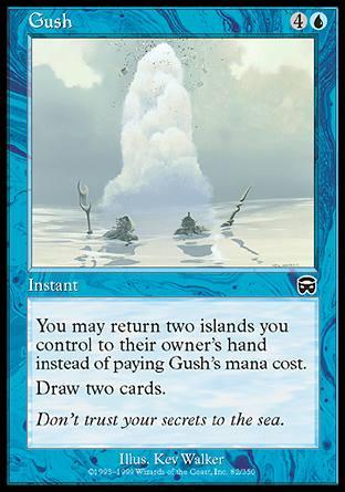 le topic des cartes magic Gush