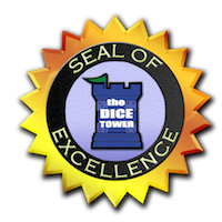 Dice Tower Seal of Excellence seal logo