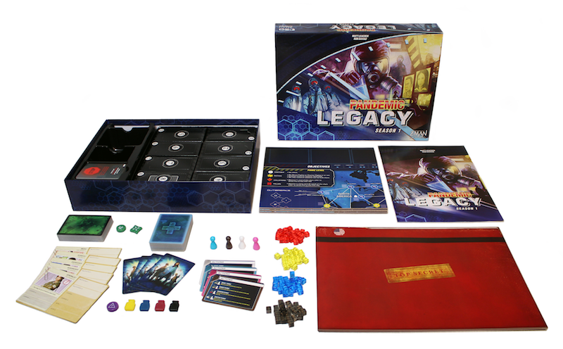 Image result for pandemic legacy season 1 red