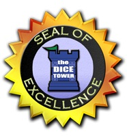 Dice Tower's Seal of Excellence logo