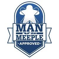 Man vs Meeple Approved logo