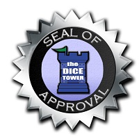 the Dice Tower Seal of Approval logo seal