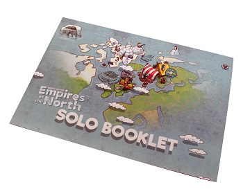 the Empires of the North Solo Booklet's cover