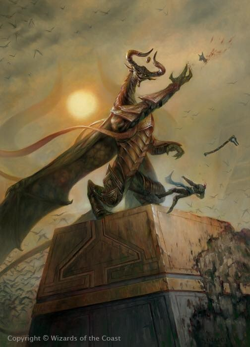 Archenemy Nicol Bolas Art Review Article By Vorthos Mike