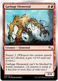 Top Ten Unstable Cards Article By Abe Sargent