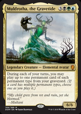 Budget Commander #42: Muldrotha's Fun Times | Article by Abe
