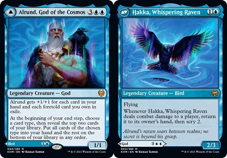 Image of the Magic card Alrund, God of the Cosmos